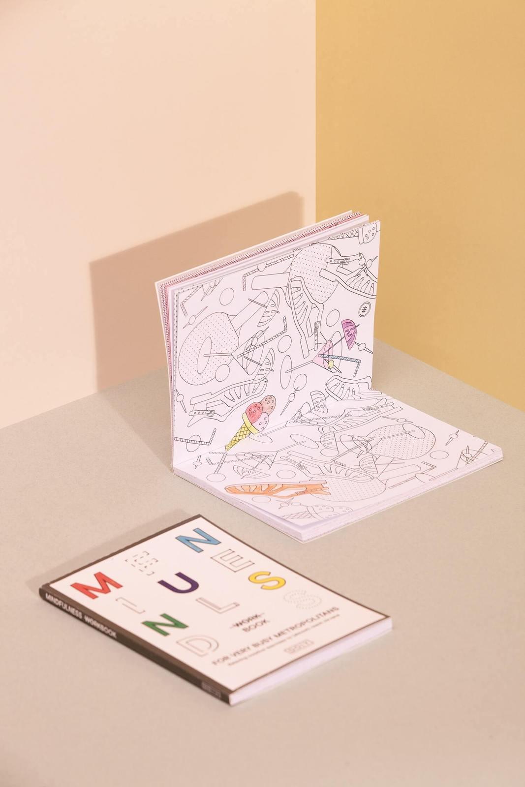 """aktivitätsbuch für erwachsene  """"mindfulness workbook"""
