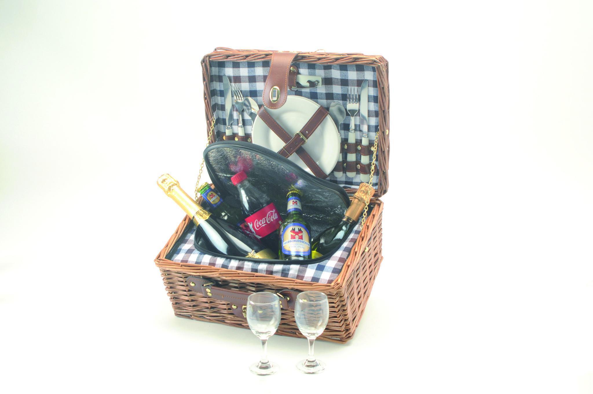 picknickkorb hyde park f r 2 personen picknick online bei isda kaufen. Black Bedroom Furniture Sets. Home Design Ideas
