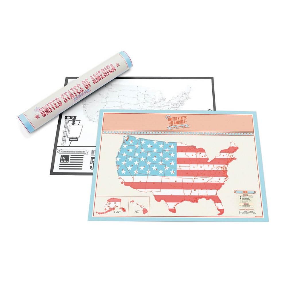 Travel Edition Scratch Map USA - Weltkarten & Reisen - online bei ...