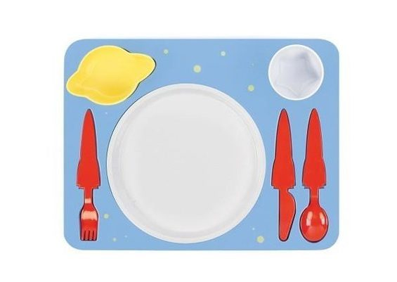Space Dinner Set - Children's harness set