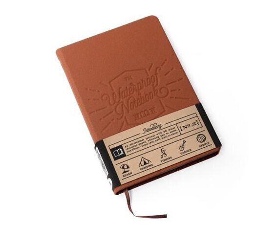 Waterproof Notebook braun 2.0