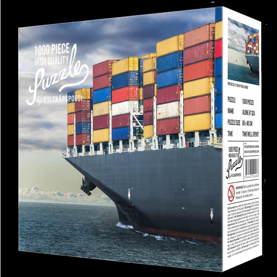 Puzzle Alone at Sea - 1000 Teile
